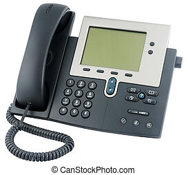 Office IP telephone above view - IP office telephone set...
