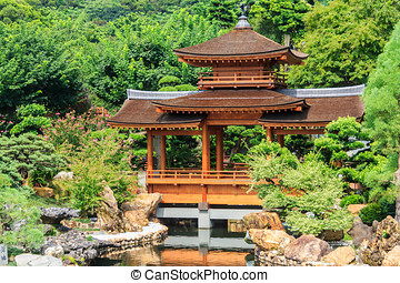 Pavilion Of Absolute Perfection In Nan Lian Garden, Chi Lin...
