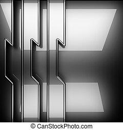 polished metal background
