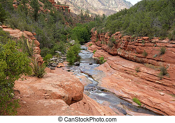 Slide Rock State Park, Arizona - Image taken at Slide Rock...