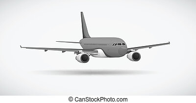An aircraft - Illustration of an aircraft