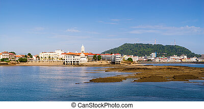 Panama City view old casco viejo antiguo - Tourist...