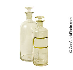 VINTAGE APOTHECARY BOTTLES, - antique apothecary bottles on...