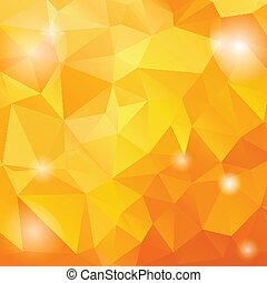Bright rainbow vector background from mosaic triangles. Good...