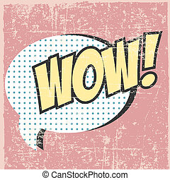 pop art - comic pop art background, illustration in vector...