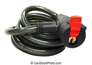 The bicycle lock - The special lock for protection of...