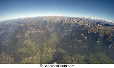 Alps Aerial View - 360?  Alps Aerial View - 3000m