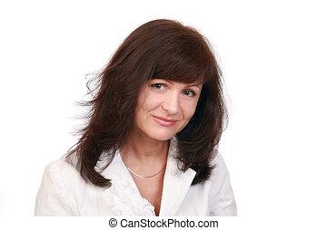 Portrait elegant business-woman