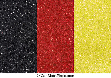 ensign belgium - the ensign of belgium made of twinkling...