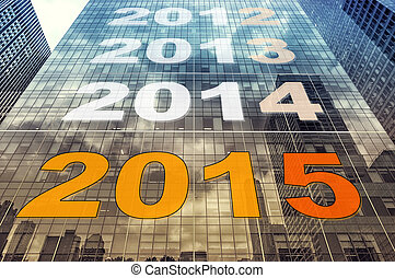 countdown 2015 - picture of a countdown 2015 concept