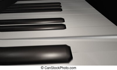 Piano Intro HD - Piano animation concept, perfect for...