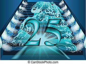 25 year sanniversary. temp passed