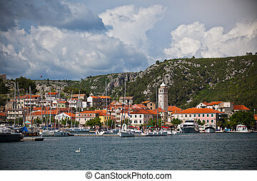 Skradin is a small historic town in Croatia - Skradin is a...