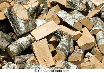 Stack of wood