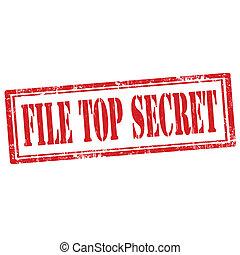File Top Secret-stamp