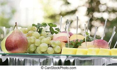 Sliced ??fruit