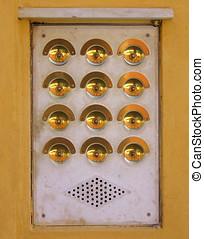 apartment buzzers