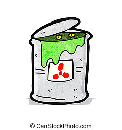 radioactive waste cartoon
