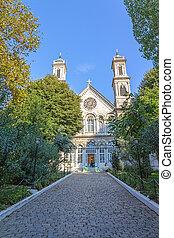 griego, ortodoxo, iglesia, Estambul