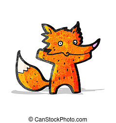 cartoon fox