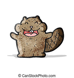 cartoon beaver