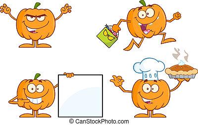 Pumpkin Series 4. Collection Set