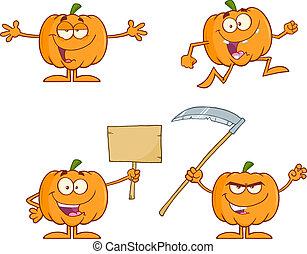 Pumpkin Series 2. Collection Set