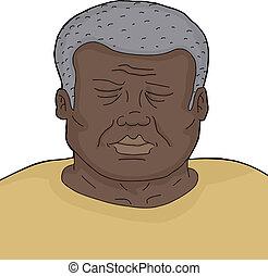 Dead Senior Man