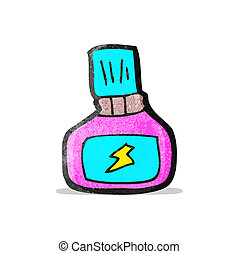 cartoon nail polish