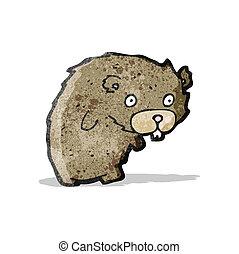 cartoon beaver