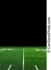 Footbal field - American football field background