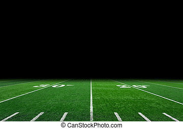 Football field - American football field background