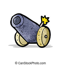 cartoon cannon