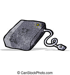 cartoon hard drive