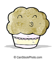 cartoon muffin