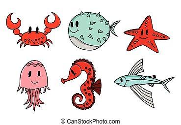 Under Water Animal