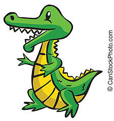 Crocodile Cartoon