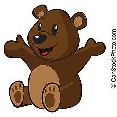 rysunek, Niedźwiedź