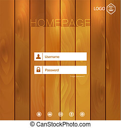 Homepage - Minimal Web Template Background for a homepage...
