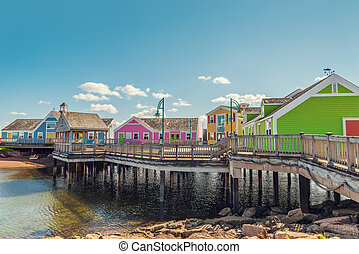 Summerside waterfront (Prince Edward Island, Canada)