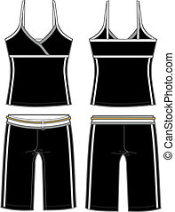 Ladies Aerobic Set