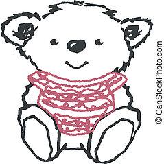 Lovely Bear Illustration