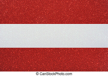 ensign austria - the ensign of austria made of twinkling...