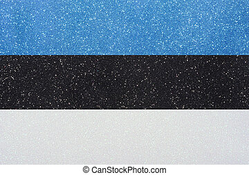 ensign estonia - the ensign of estonia made of twinkling...