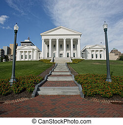 State Capital of Virginia. - Virgina State Capital building...