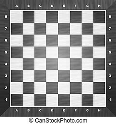 Empty chess board vector illustration 10 eps