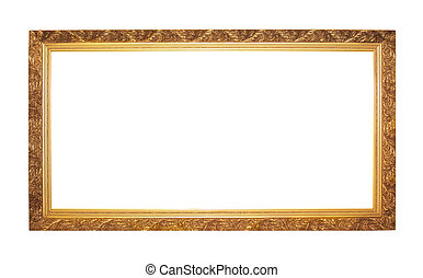 old style frame - the beautiful golden frame for your...