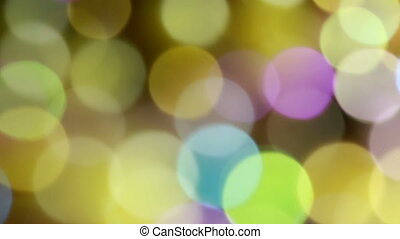 Colorful Bokeh Background 03