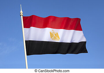 Flag of Egypt - The flag of Egypt is a tricolour consisting...
