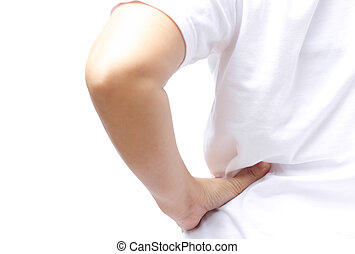 Back Pain - Women got a pain in the back